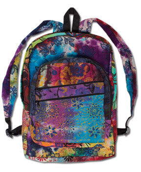 NEW! Daisy Day Painted Backpack: Soul-Flower Online Store