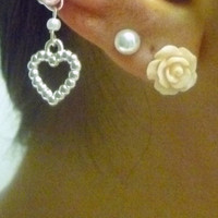 Ear Cuff - Heart Charm