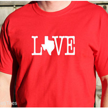 Love Texas Shirt, Texas T-Shirt