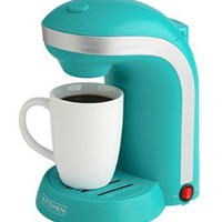 Kitchen Selectives Colors Single Serve Coffee Maker - Teal