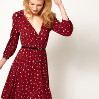 A Wear Robin Wrap Dress at asos.com