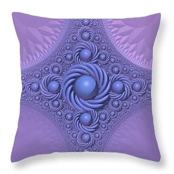 "Lavender Beauty Throw Pillow 26"" x 26"""