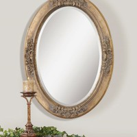 Bolotana Oval Mirror by Uttermost UTT-12809 12809