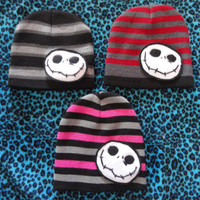 Jack Skellington Nightmare Before Christmas Beanie toddler unisex boy/girl
