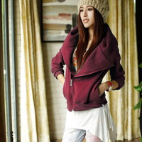 new all-purpose zipper cotton coat | wholesaleitonline.com