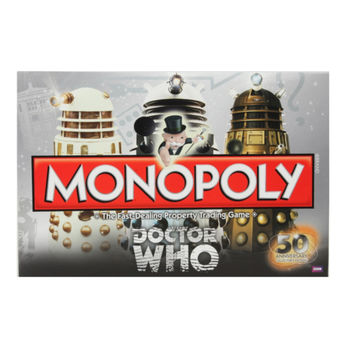 Doctor Who Monopoly 50th Anniversary Collectors Edition Board Game