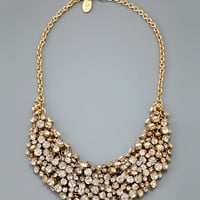 ideeli | CARA COUTURE Crystal Bib Necklace