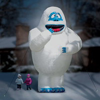 The 15 Ft Inflatable Bumble The Snow Monster.