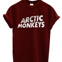 New Arctic Monkeys T-shirt Rock Band