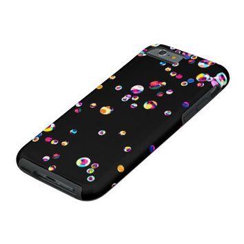 Bubbles - Black iPhone 6 Case