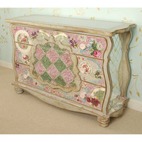 Bohemian Mosaic Three Drawer Dresser : Drawer Chests at PoshTots