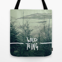 Wild Thing: Skagit Valley, Washington Tote Bag by Leah Flores