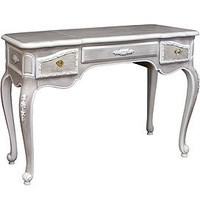 Gustave Grey Vanity - Vanity Tables & Seating - For the Bath - Bedding & Bath - PoshLiving