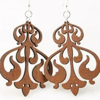 Green Tree Jewelry Rorschach Earrings