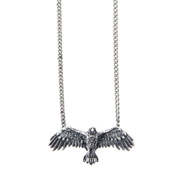 """Love Nail Tree – """"Eagle"""" Liberty Necklace – Pewter - Love Nail Tree – """"Eagle"""" Liberty Necklace – Pewter"""
