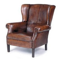 Library Wing Chair - Accent Chairs - Sofas &amp; Chairs - Furniture - PoshLiving