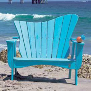 Wave Settee - Patio Furniture - Outdoor Furniture - Furniture - PoshLiving