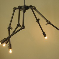Art Chandelier by electriceyedesign on Etsy