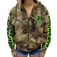 Pullover Hoodie - Realtree APG Camo with Green Logo: Hunting Apparel | Hunting Clothes | Shirts | Stickers | Decals