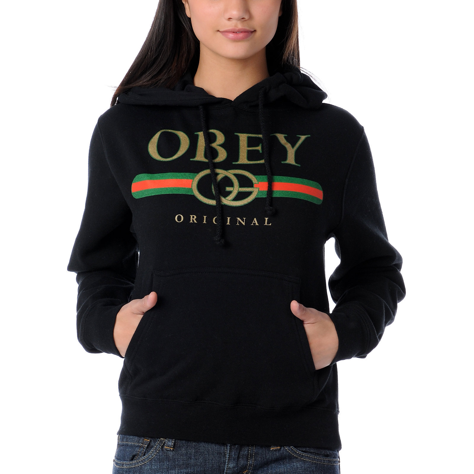 the gallery for gt obey hoodies for girls