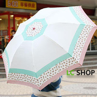 YESSTYLE: Lazy Corner- Mixed-Print Umbrella - Free International Shipping on orders over $150