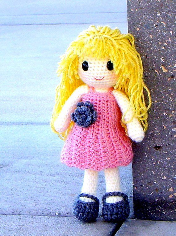 Crochet Pattern Central Doll : Dolls And Doll Clothes Crochet Free Pattern Auto Design Tech