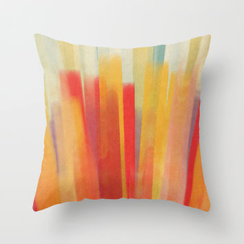 thinking out loud Throw Pillow by SpinL