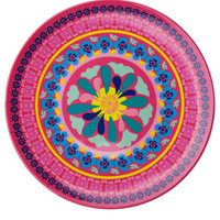 Melamine Plate Mexican Pink | Pink | Monsoon