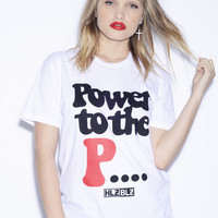 Power to the P T-Shirt