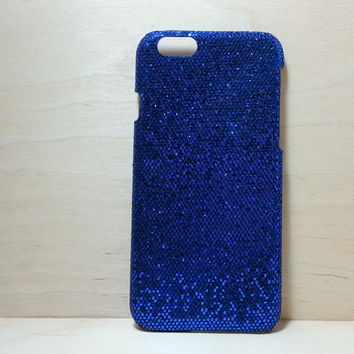 Glitter Case for iphone 6 (4.7 inches) - Sapphire