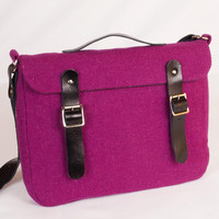 Harris Tweed Pink Mini Satchel