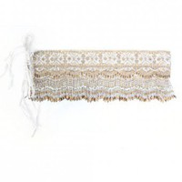 Embellished Fringe Beaded Belt