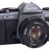 Vivitar V3800N Manual SLR Camera with 50mm Lens & Case