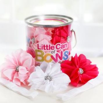 """""""Little Can Of Bows"""" Pink"""