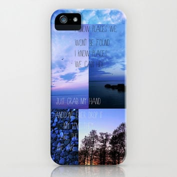 I Know Places iPhone & iPod Case by Sara Eshak