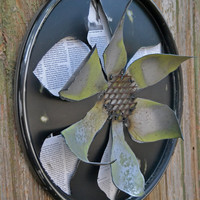 3 Dimensional Flower Wall Art