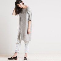 JOINERY - Marled T-Shirt Dress by Revisited - WOMEN