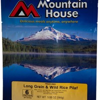 Mountain House Long Grain and Wild Rice Pilaf - 2 Servings