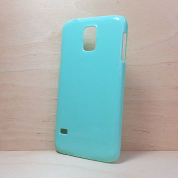Hard Plastic Case for Samsung Galaxy S5 - Mint Green