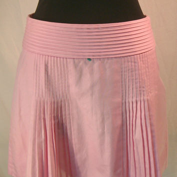 J.Crew Skirt pink pleated mini sz 0 xx-small spring 05