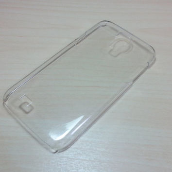 Hard Plastic Case for Samsung Galaxy S4 - Clear
