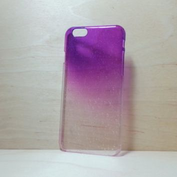 3D Water Droplets Hard Plastic Case for iPhone 6 (4.7 inches) - Purple