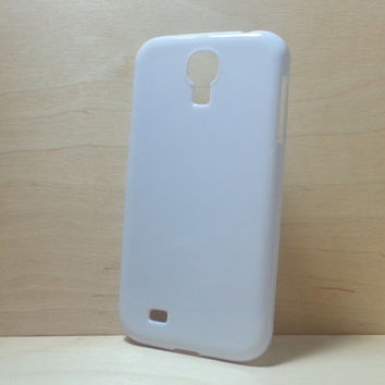Hard Plastic Case for Samsung Galaxy S4 - white