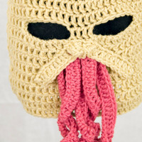 Doctor Who Ood Ski Mask Hat, send size choice baby - adult
