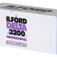 Ilford DELTA 3200 Professional, Black and White Print Film, 120 (6 cm), ISO 3200 (1921535)