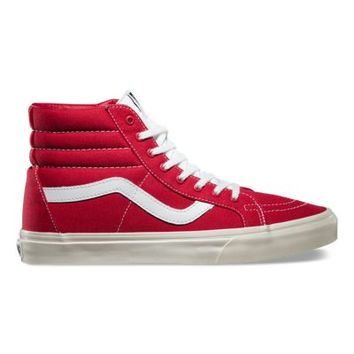 Vans 10 Oz Canvas SK8-Hi Reissue (tango red/marshmallow)