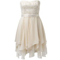 Susie Strapless Embellished Dress - Forever New
