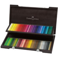 Faber-Castell Woodcase Gift Set of 120 POLYCHROMOS Art Colored Pencils