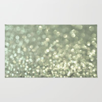 Mingle 2 - Silver Screen Rug by Lisa Argyropoulos