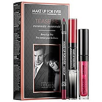 Tease Me Lip Set: Inspired by the movie <i>Fifty Shades of Grey</i> - MAKE UP FOR EVER | Sephora